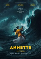 Annette - Swiss Movie Poster (xs thumbnail)