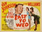Easy to Wed - Movie Poster (xs thumbnail)