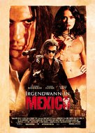 Once Upon A Time In Mexico - German Movie Poster (xs thumbnail)