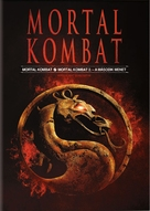 Mortal Kombat - Hungarian DVD cover (xs thumbnail)