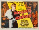 Accused of Murder - Movie Poster (xs thumbnail)