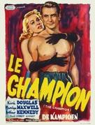 Champion - Belgian Movie Poster (xs thumbnail)