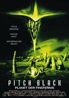 Pitch Black - German Movie Poster (xs thumbnail)