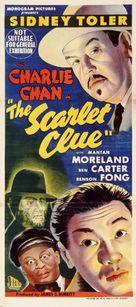 The Scarlet Clue - Australian Movie Poster (xs thumbnail)