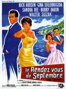 Come September - French Movie Poster (xs thumbnail)