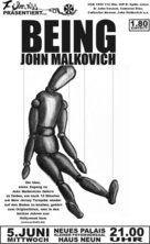 Being John Malkovich - German Movie Poster (xs thumbnail)