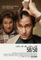 50/50 - Canadian Movie Poster (xs thumbnail)