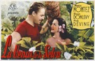 South of Tahiti - Spanish Movie Poster (xs thumbnail)