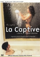 La captive - DVD cover (xs thumbnail)