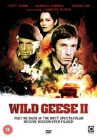 Wild Geese II - British DVD cover (xs thumbnail)