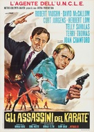 The Karate Killers - Italian Movie Poster (xs thumbnail)