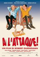 À l'attaque! - Italian Movie Poster (xs thumbnail)