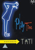 Play Time - British DVD cover (xs thumbnail)