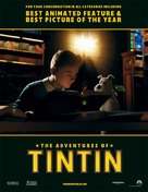 The Adventures of Tintin: The Secret of the Unicorn - For your consideration poster (xs thumbnail)