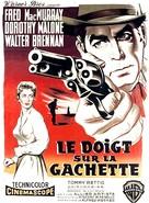 At Gunpoint - French Movie Poster (xs thumbnail)
