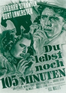 Sorry, Wrong Number - German Movie Poster (xs thumbnail)