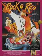 Rock-A-Doodle - French Movie Poster (xs thumbnail)