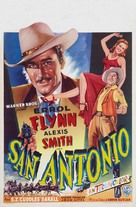 San Antonio - Belgian Movie Poster (xs thumbnail)