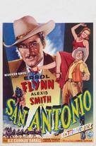 San Antonio - Belgian Movie Poster (xs thumbnail)