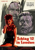 The Two Faces of Dr. Jekyll - German Movie Poster (xs thumbnail)