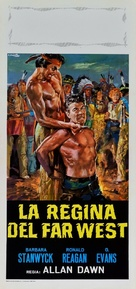 Cattle Queen of Montana - Italian Movie Poster (xs thumbnail)