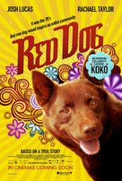 Red Dog - Singaporean Movie Poster (xs thumbnail)