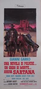 Una nuvola di polvere... un grido di morte... arriva Sartana - Italian Movie Poster (xs thumbnail)