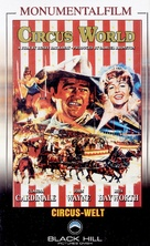 Circus World - German VHS movie cover (xs thumbnail)