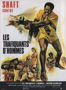 Shaft in Africa - French Movie Poster (xs thumbnail)