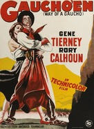 Way of a Gaucho - Danish Movie Poster (xs thumbnail)
