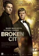 Broken City - German Movie Poster (xs thumbnail)