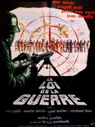 Legge di guerra - French Movie Poster (xs thumbnail)