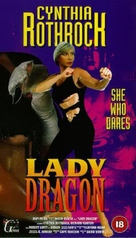 Lady Dragon - British VHS cover (xs thumbnail)