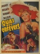 Quai des Orfèvres - Belgian Movie Poster (xs thumbnail)