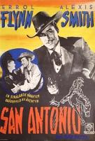 San Antonio - Swedish Movie Poster (xs thumbnail)