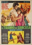 Il tiranno di Siracusa - Italian Movie Poster (xs thumbnail)