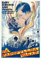 Fighting Caravans - Swedish Movie Poster (xs thumbnail)