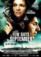 Quelques jours en septembre - German Movie Poster (xs thumbnail)