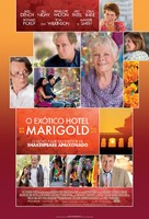 The Best Exotic Marigold Hotel - Brazilian Movie Poster (xs thumbnail)
