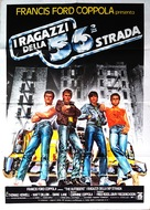 The Outsiders - Italian Movie Poster (xs thumbnail)