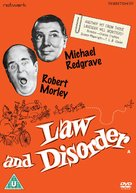 Law and Disorder - British DVD cover (xs thumbnail)