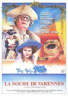 La nuit de Varennes - Spanish Movie Poster (xs thumbnail)