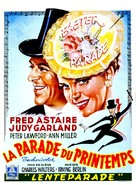 Easter Parade - Belgian Movie Poster (xs thumbnail)