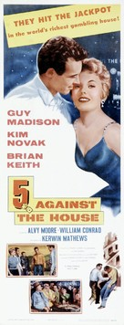 5 Against the House - Theatrical movie poster (xs thumbnail)