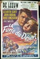 Desert Fury - Belgian Movie Poster (xs thumbnail)