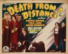Death from a Distance - Movie Poster (xs thumbnail)