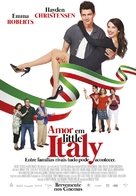 Little Italy - Portuguese Movie Poster (xs thumbnail)