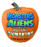 Monsters vs Aliens: Mutant Pumpkins from Outer Space - Logo (xs thumbnail)