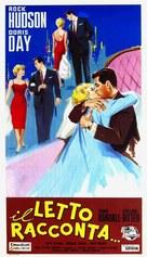 Pillow Talk - Italian Movie Poster (xs thumbnail)