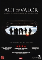 Act of Valor - Danish DVD movie cover (xs thumbnail)
